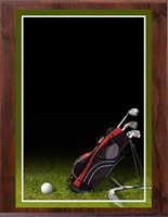 "8"" x 10"" Full Color Golf Plaque VL810-MP304C"
