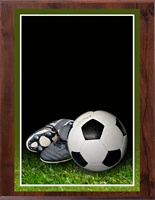 "8"" x 10"" Full Color Soccer Plaque VL810-MP305C"
