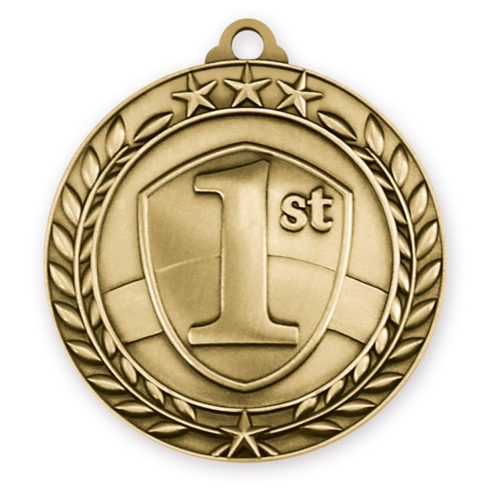 "2-3/4"" 1st Place Medal"
