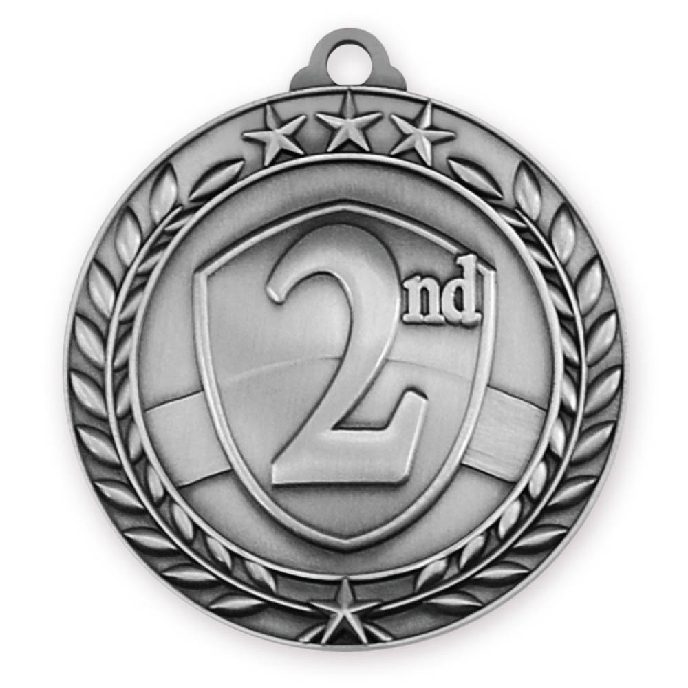 "2-3/4"" 2nd Place Medal"