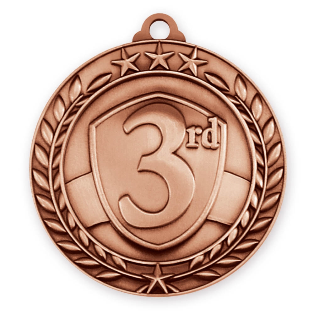 "2-3/4"" 3rd Place Medal"