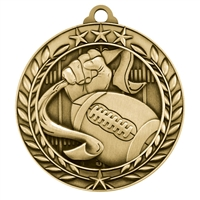 "1 3/4"" Flag Football Medal"