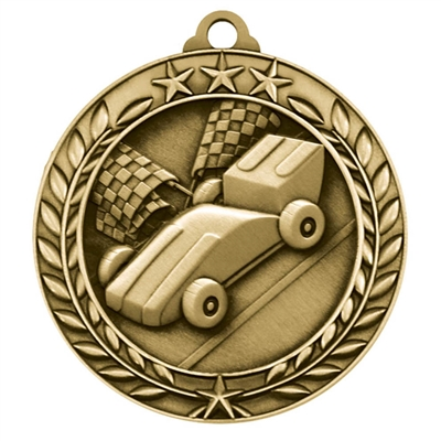 "1 3/4"" Pinewood Derby Medal"