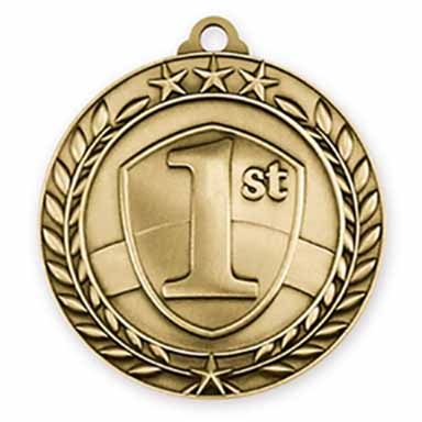"1 3/4"" 1st Place Medal"