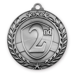 "1 3/4"" 2nd Place Medal"