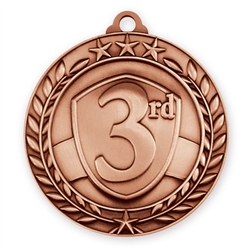 "1 3/4"" 3rd Place Medal"