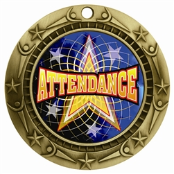"3"" WCM Full Color Attendance Medal"