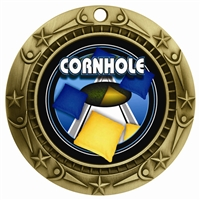 "3"" WCM Full Color Cornhole Medal"