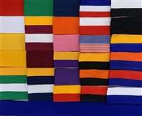 "Case of 100 of Any Color 1-1/2"" x 32"" Ribbons w Clip Wide Ribbon Case 100"