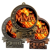 Flame MMA Medal