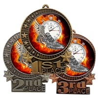 Flame Track Medal