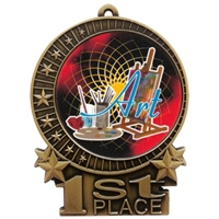 "3"" Full Color Art Medals"