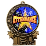 "3"" Full Color Attendance Medals"