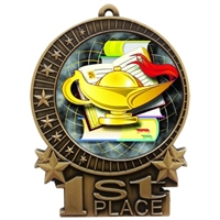 "3"" Full Color Lamp Medals"