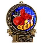 "3"" Full Color Boxing Medals"