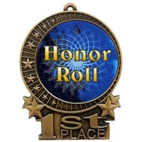 "3"" Full Color Honor Roll Medals"