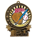 "3"" SUN Softball Medals"