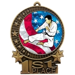 "3"" USA Karate Judo Medals"