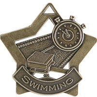 "2-1/4"" Star Series Swimming Medal XS213"
