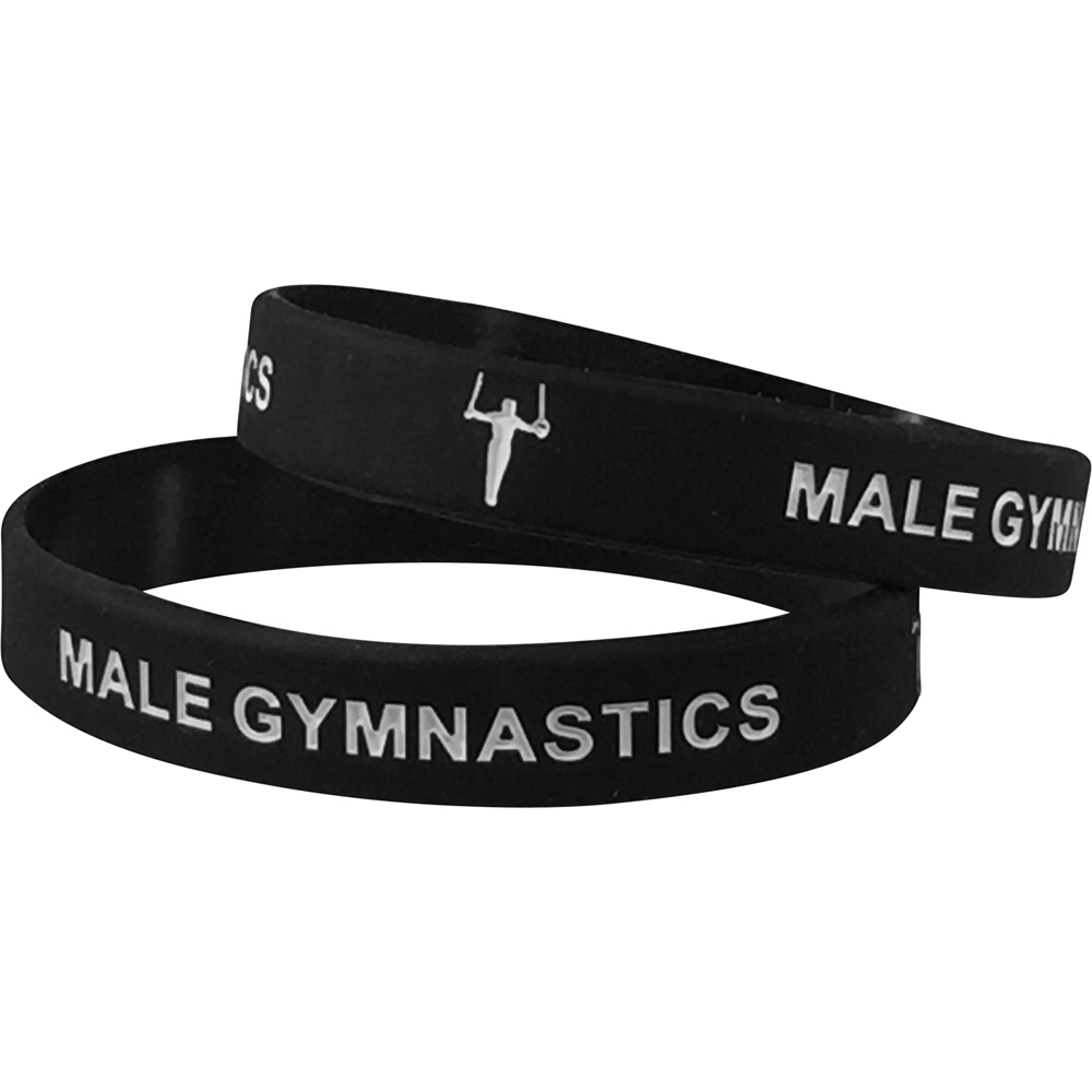 Silicone Male Gymnastics Wrist Band