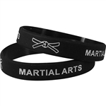 Silicone Martial Arts Wrist Band