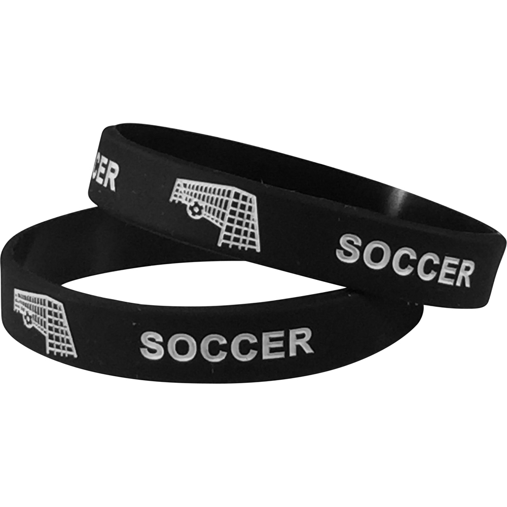 Silicone Soccer Wrist Band
